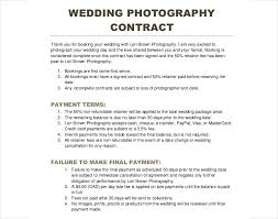 sample of contracts download photography contract sample bonsai
