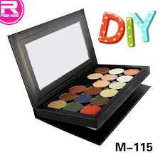 china high quality oem and whole bo empty magnetic makeup eyeshadows palette china cosmetic whole eyeshadow
