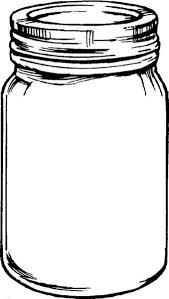 dafa84ee4211e918e35dc21051c045c9 free mason jar tempplates an ink drawing of a mason jar clipart on whatsapp chat template psd