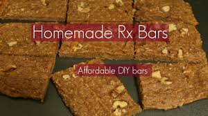 homemade fruit nut protein bars rx bars maple sea salt inspired simple healthy affordable