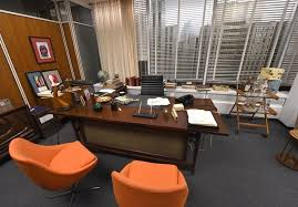 mad men furniture. With AFP Story By Jennie MATTHEW: Entertainment-US-television-MadMen-museum Mad Men Furniture F