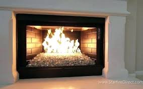 gas fireplace doors open or closed vented keep glass door with blower large