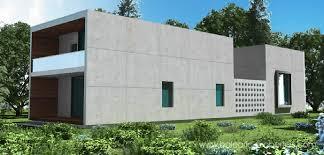 Concrete Prefab Homes Concrete Modular Villas In Mallorca A New Concept For Modern