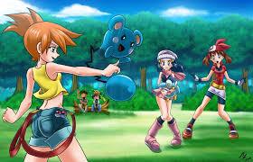 kasumi vs haruka and hikari : pokemon by mauroz on deviantART | Pokémon  heroes, Pokemon waifu, Pokemon game characters