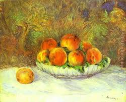 still life with peaches painting pierre auguste renoir still life with peaches art painting