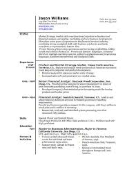 American Format Resume | Resume Format And Resume Maker