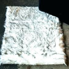 purple faux fur rug faux fur area rug grey faux sheepskin area rug grant grey sheepskin