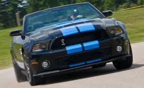 2010 Ford Mustang Shelby GT500 Convertible | Instrumented Test ...