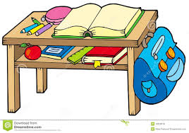 school table clipart. Delighful Clipart School Table And Table Clipart