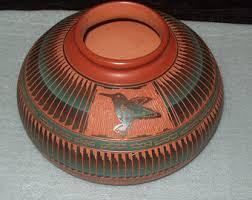 navajo pottery designs. Navajo Pottery Large Pot By EY Dine Designs
