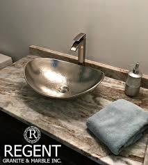 Custom Bathroom Countertops Unique Granite Bathroom Countertops London ON Regent Granite
