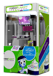 Froyo Vending Machine Stunning Robofusion Interactive Robotic Kiosks
