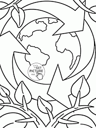 Save The Our Earth Earth Day Coloring Page For Kids Coloring