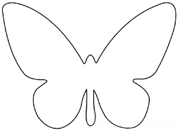 Butterfly Cutouts Template Free Butterfly Templates Under Fontanacountryinn Com
