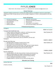 Caregiver Resume Sample EyeGrabbing Caregiver Resumes Samples LiveCareer caregiver 9