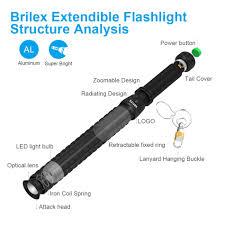 2019 的 <b>BRILEX Flashlight</b> Multi Functional Waterproof <b>Flashlight</b> ...