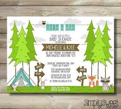 Amusing Camping Themed Baby Shower Invitations 71 With Additional Camping Themed Baby Shower Invitations