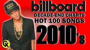 Billboard Hot 100 Songs Decade End Chart 2010s