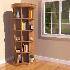 Revolving Bookshelf Outstanding Carousel Revolving Bookcase 90 In Cute Book  Shelf With