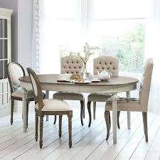 french style dining table round oval extendable dining table with natural top light grey attic french style dining table sets