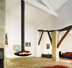 100 Fireplace Design Ideas For A Warm Home During WinterFloating Fireplace