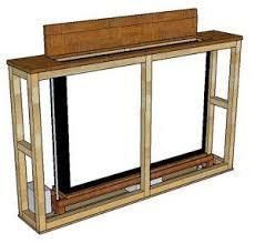 tv hideaway furniture. Outstanding Diy Tv Lift Cabinet TV Mit Prototyp YouTube Hideaway Furniture