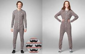 Adult Onesie Pattern Beauteous Manly Patterned Onesies Mustache Onesie