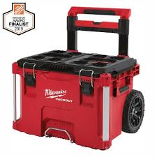 milwaukee packout 22 in rolling tool