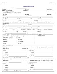 Patient Registration Form Patient Forms Mizell Family Dentistry Destin Pensacola FL 3