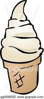 soft serve ice cream cone drawing. Unique Soft Soft Serve Ice Cream On Serve Ice Cream Cone Drawing O