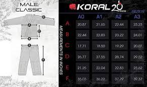 Koral Jeans Size Chart Size Chart Koral Fighters Market