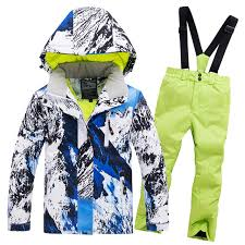 Online Shop <b>kids clothes winter ski</b> suit windproof waterproof ...