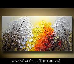 paintings for office walls. Chen Art- Abstract Acrylic Paintings On Canvas Modern Wall Art Contemporary Artwork For Decorations Home Decor Office Walls