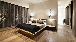 bedroom design idea: bedroom design contemporary simple decoration black curtain closed glass window inside contemporary bedroom designs with