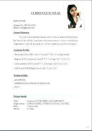 Download Format Resume Delectable Standard Resume Format For Mechanical Engineers Download Sample