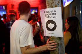 Mask Mandate Put Back in Place in Los ...