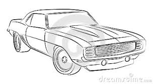 muscle cars drawings.  Cars And Muscle Cars Drawings
