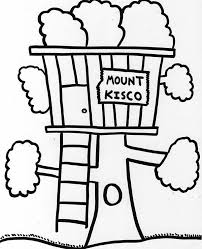 Small Picture Mount Kisco Treehouse Coloring Page Color Luna