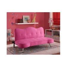 couch bedroom sofa: sofa lounger futon pink girls furniture modern bedroom playroom couch kids home