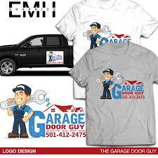 garage door guysLogo Design  EMH Graphics