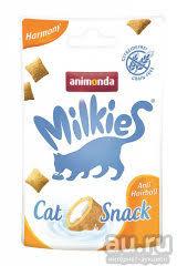 Анимонда <b>Milkies Harmony</b> Hairball <b>лакомство</b> для кошек для ...