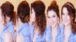 for quick easy hairstyles wavy hair image
