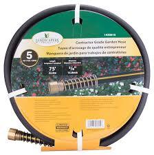 landscapers select garden hose 75 ft x