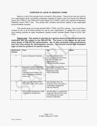 Medical Certification Form Non Fmla Leave Of Absence Sample Forms