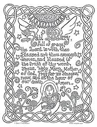 Free Catholic Coloring Pages Pray Coloring Pages Free Catholic Hail