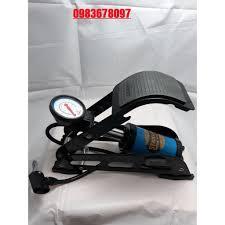Bơm Hơi Đạp Chân Đa Năng Mini Cho Ô Tô xe máy STANLAYS 1 ống - ChoBaDao