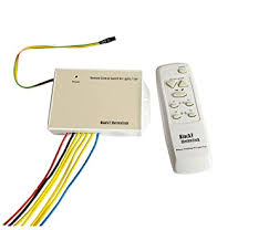 Blackt Electrotech Wireless <b>Remote Control</b> Switch System For 4 ...