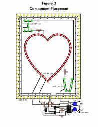 the flashing heart circuit diagrams led circuit diagrams at Led Circuit Diagrams