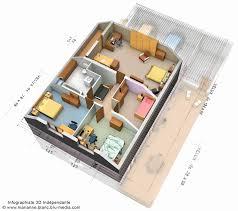 Plan Maison Etage 3d Awesome Plan De Maison En 3d Plan Maison Moderne 3d  Plan De