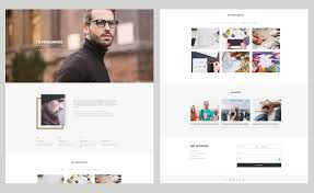 Personal Website Template Awesome Free Bootstrap Personal Website Template For Engaging Portfolio